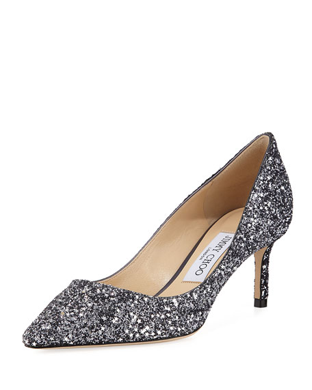 Romy Coarse Glitter 60mm Pump