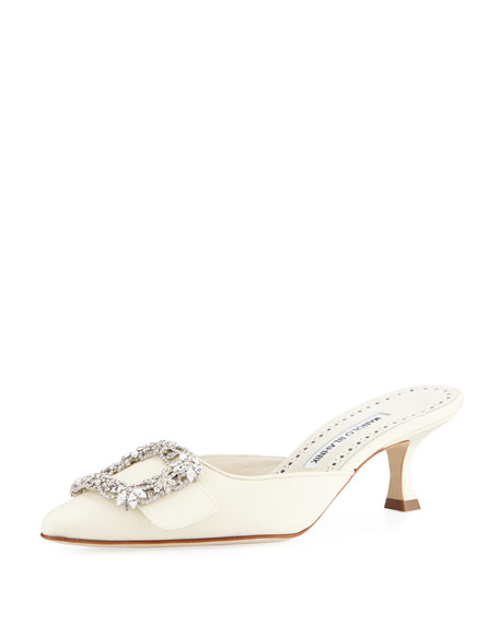 Image 1 of 1: Maysale Bridal Satin Mule