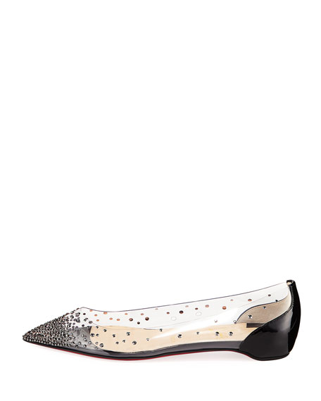 3dc6ea75b15 Degrastrass Red Sole Ballet Flats