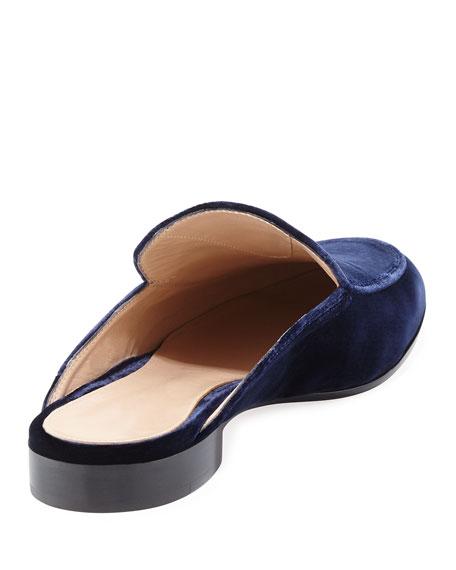 Velvet Loafer Mule