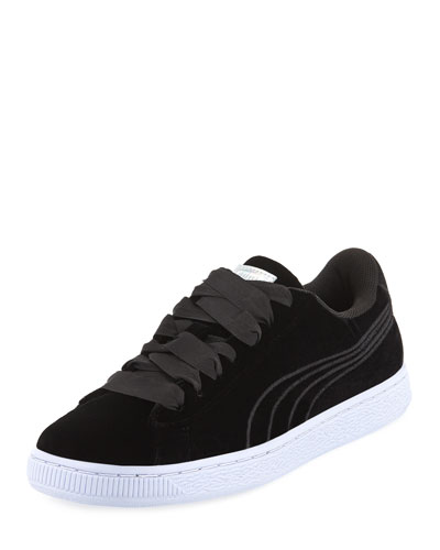 Basket Classic Velour Sneakers