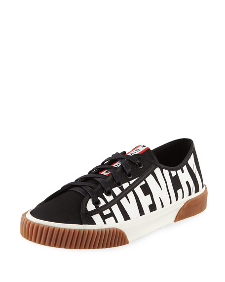 4fc66f256c6e Givenchy Boxing Logo Canvas Sneakers