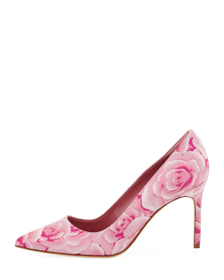 BB Floral-Print 90mm Pump