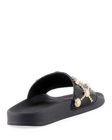 Calypso Lion Slide Sandal
