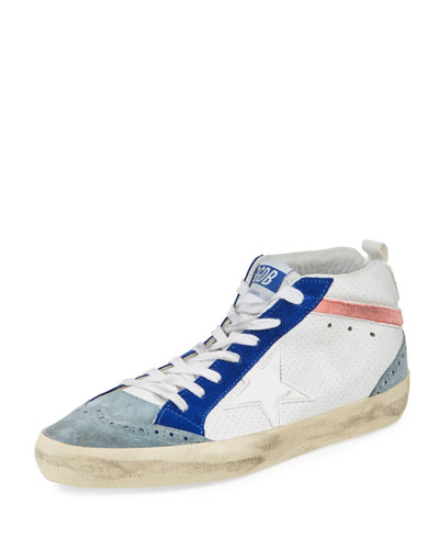 Mid-Top Mixed Star Sneaker