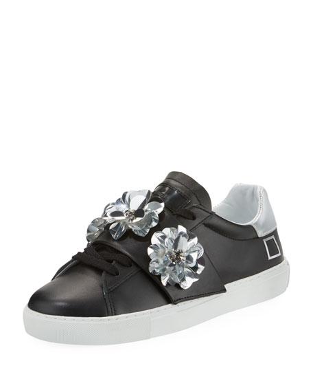 Newman Flower-Strap Sneaker