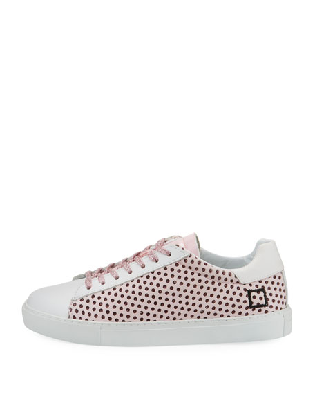 Newman Perforated Leather Sneaker