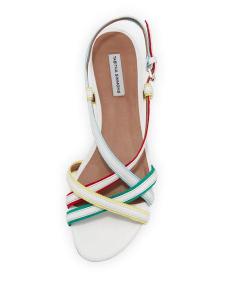 Sarlo Strappy Ribbon Halter Sandal