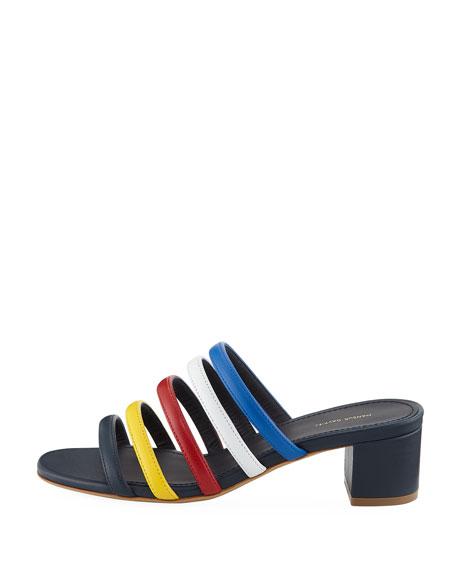 Ombré Strappy Slide Sandal