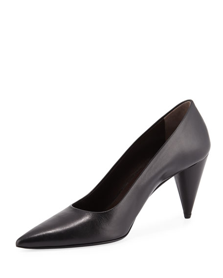 f77be5d117b THE ROW Pointed Cone-Heel Pumps