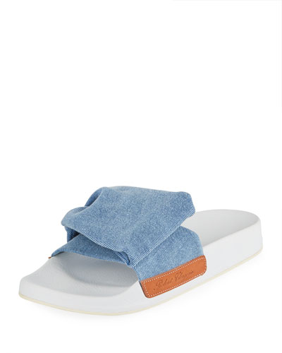 Wendy Denim Pool Sandal