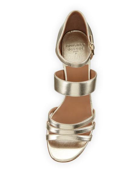 Nanou Metallic Strappy Sandals