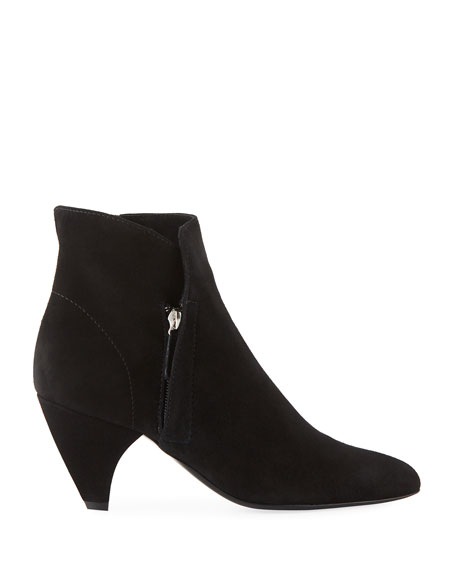 Stella Suede Ankle Booties