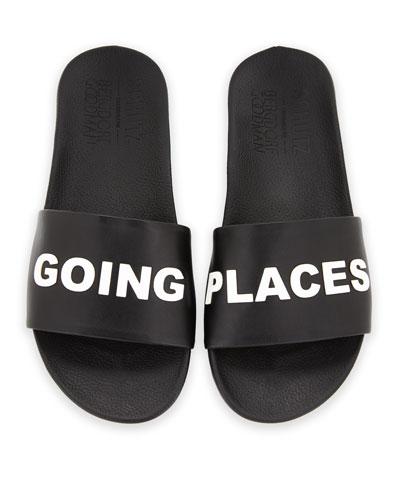 Going Places Slide Sandal