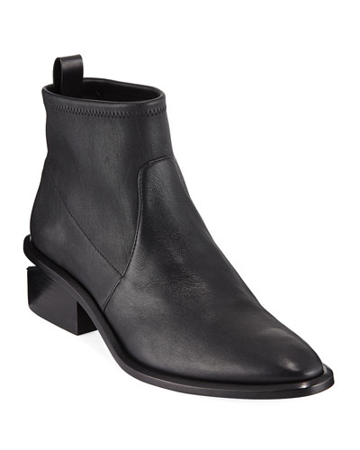 Kori Stretch Leather Bootie