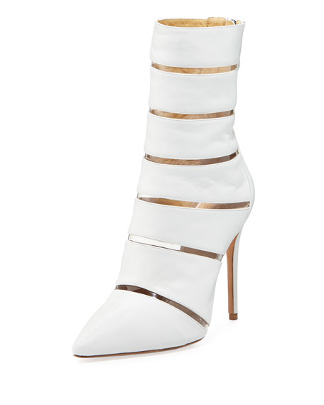 Alexandre Birman Sommer Cutout High Booties
