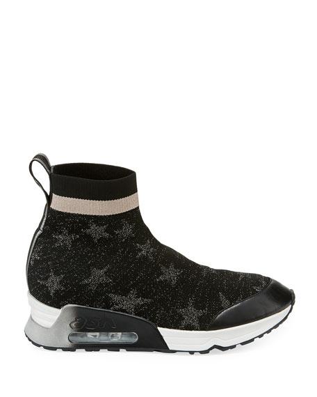 Lulla Star-Sock Slide Sneakers