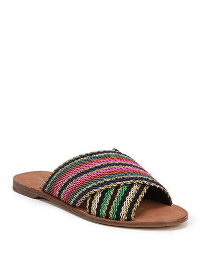 Cindi Crisscross Flat Sandal