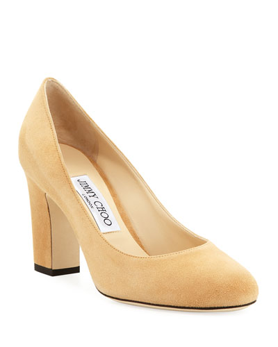 Billie Sue Suede Pump