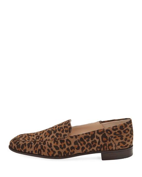 Suede Smoking Flat Loafer