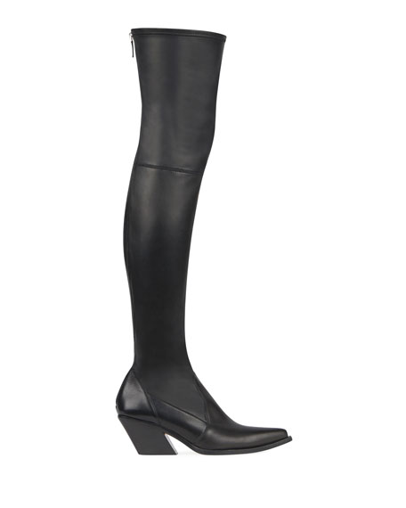 Over-The-Knee Cowboy Boot