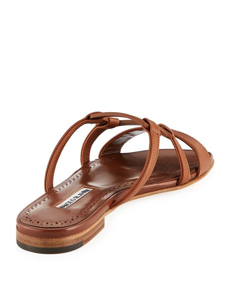 Orafas Flat Leather Sandal