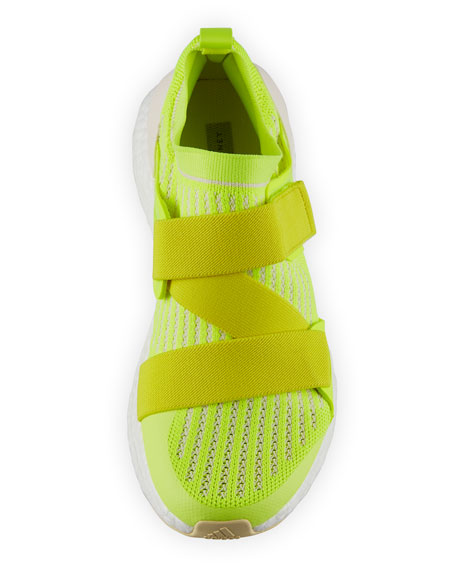 big sale 4bd94 c7f90 Ultraboost X Fabric Sneakers, Bright Yellow