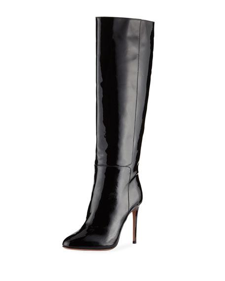 Brera Knee-High Patent Boot