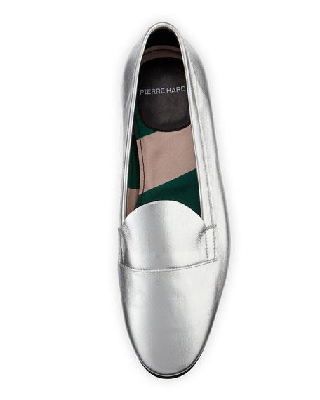Jacno Metallic Flat Loafers