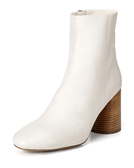 Ridley Leather 55mm Booties