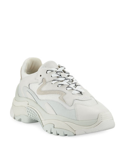 Addict Mixed Two-Tone Sneakers