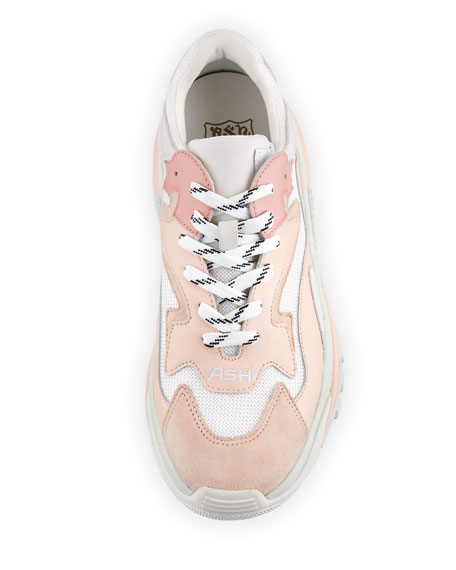 Addict Mixed Two-Tone Sneaker