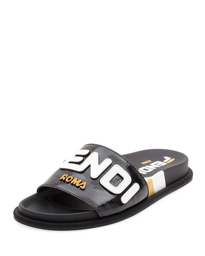 Fendi FF Slide Sandals
