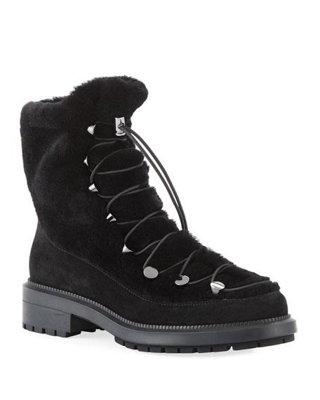 5495cecceb4a Aquatalia Lorena Shearling Boots