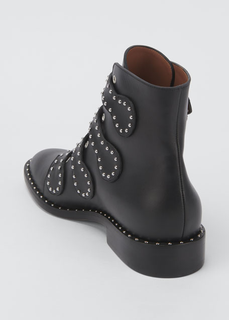 562bbcb71c5 Studded Leather Ankle Boot