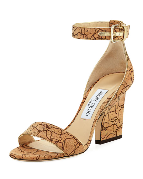 pay with visa cheap price Jimmy Choo Evan Ankle Strap Sandals sale websites rSTq6xWM