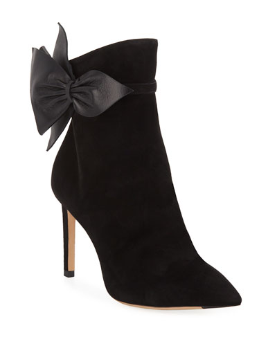 0066a936ad1 Jimmy Choo Brylee Booties with Side Buckle from Bergdorf Goodman ...