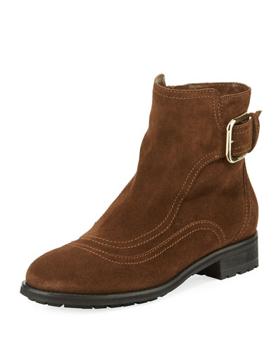 Brylee Booties with Side Buckle