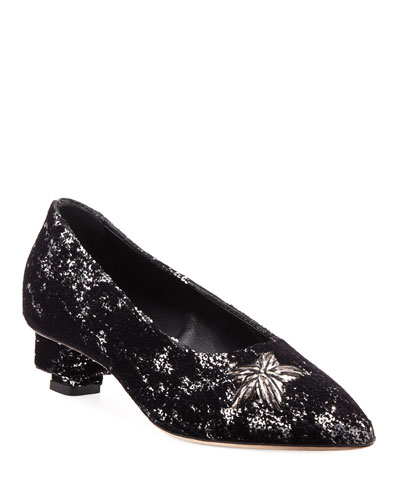 Stelle Sequined Star Pumps