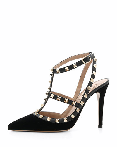 Caged Rockstud 100mm Pumps