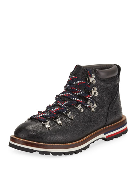 Blanche Scarpa Lace-Up Boots, Black/Gray