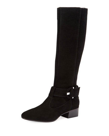 Aquatalia Fable Suede Knee Boots