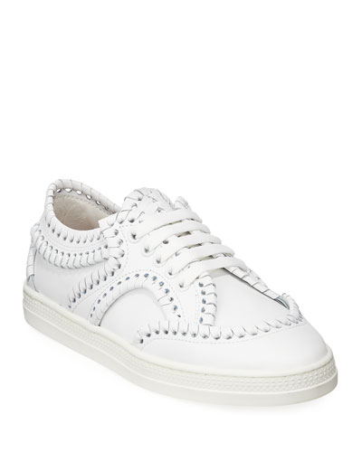 Whipstitched Platform Sneakers