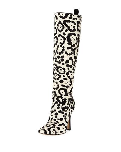 Procopio Over-The-Knee Fur Boots