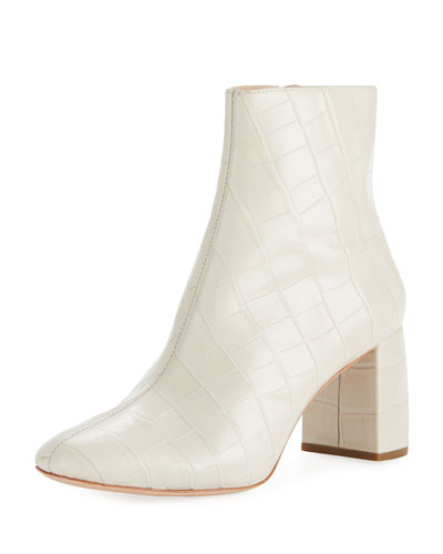 Cooper Exotic-Embossed Booties