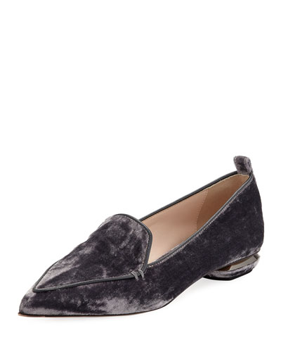 Beya 18mm Velvet Loafers