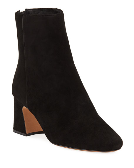 Image 1 of 1: Corella Suede Block-Heel Booties