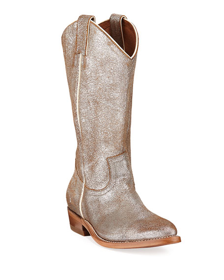 454d40b226b Billy Metallic Western Boots