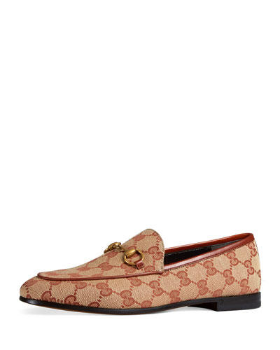 b4bb1581005 Promotion GG Canvas Flat Loafers Quick Look. Gucci