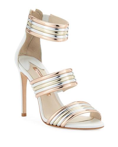 Joy Multi-Metallic Sandals